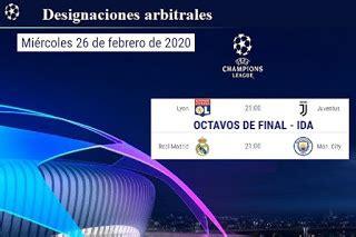 UEFA Champìons League 2019/20: Árbitros designados ...