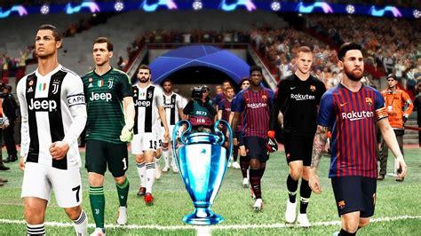 UEFA Champions League Final 2019   Barcelona vs Juventus ...