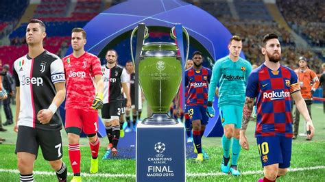 UEFA Champions League Final 2020   Barcelona vs Juventus ...