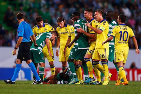 UEFA Champions League   Sporting de Lisboa vs Chelsea ...