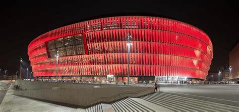 UEFA Euro 2020 venue San Mames Stadium in Bilbao in a ...