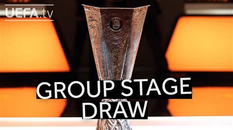 UEFA EUROPA LEAGUE 2018/19 GROUP STAGE DRAW   YouTube