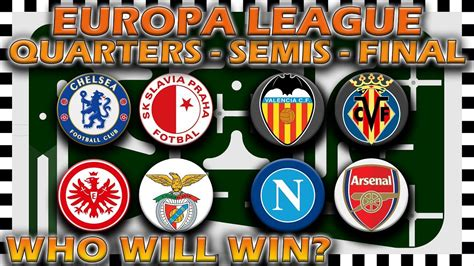 UEFA Europa League 2018/19 Predictions   Quarter Finals to ...