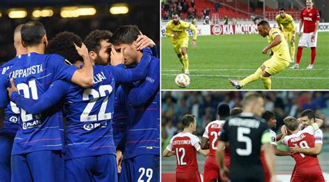 UEFA Europa League 2018 19 round 2 highlights | Chelsea ...