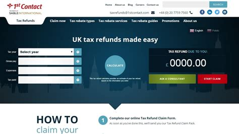 UK tax refund calculator   How to calculate your tax claim ...
