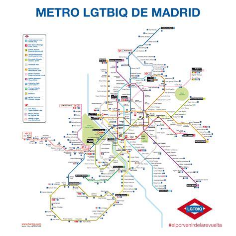 Última oportunidad para disfrutar del mapa de metro LGTBIQ ...