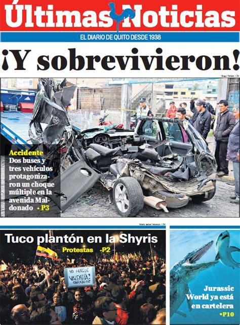 Últimas Noticias   Ecuador Noticias