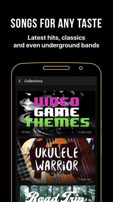 Ultimate Guitar: Chords & Tabs Unlocked   Android Apk Mods
