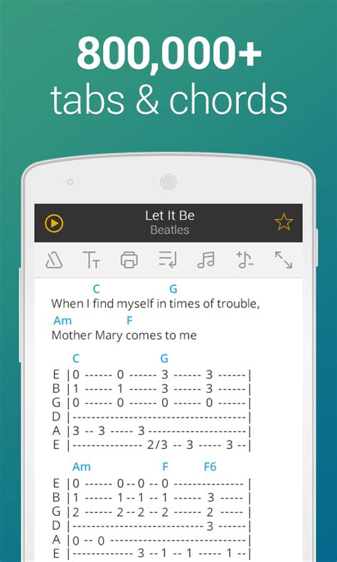 Ultimate Guitar Tabs & Chords – Android appar på Google Play