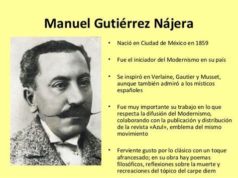 Un 22 de Diciembre nace el poeta Manuel Gutiérrez Najera ...