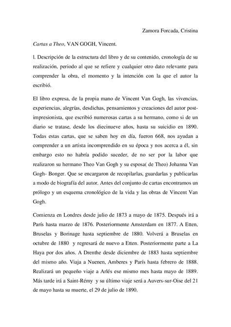 Un análisis de Cartas a Theo de Vincent Van Gogh by Gomy ...