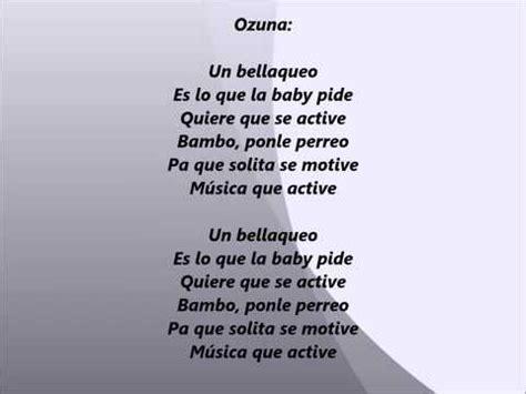 Un bellaqueo Ozuna Pusho Juanka el Problematik Alexio La ...