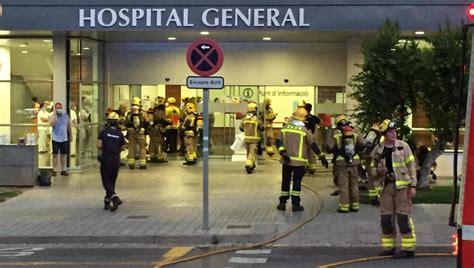 Un cigarrillo, el origen del incendio en el hospital de ...