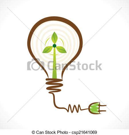 Un concepto de energía renovable creativa. Creativo ...