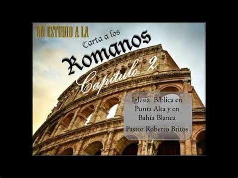 UN ESTUDIO DE ROMANOS, CAPÍTULO 2   YouTube