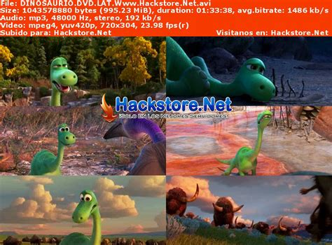 Un Gran Dinosaurio  2015  DVDRip Latino   Hackstore