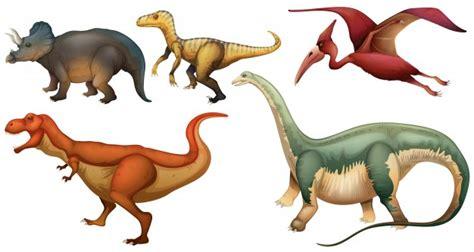 Un grupo de dinosaurios | Descargar Vectores Premium