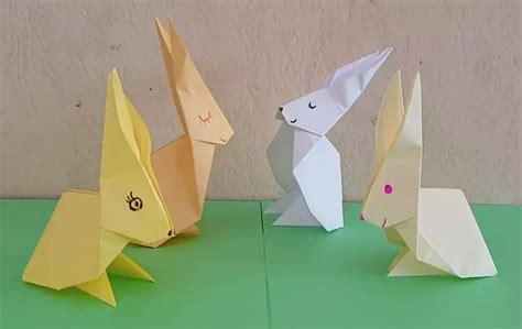 Un lapin en origami, pliage papier [VIDEO] en 2020 ...