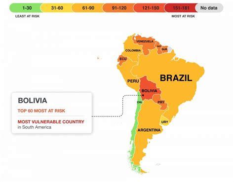 Un mapa que revela los países que tienen más posibilidades ...