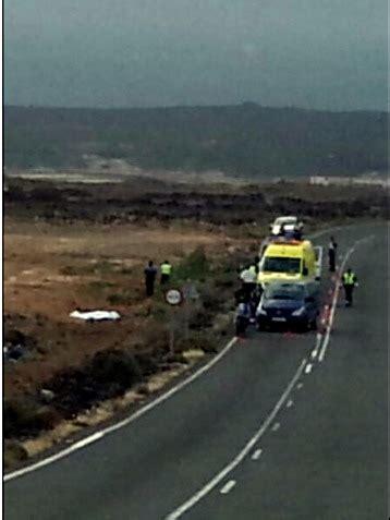 Un motorista de 35 años fallece en Lanzarote ...