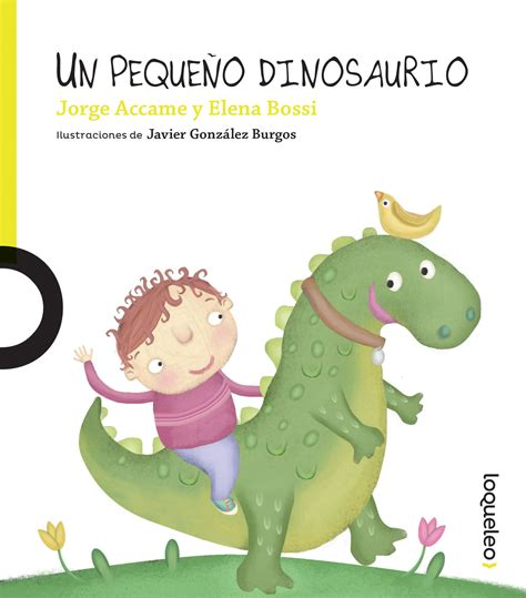 Un pequeño dinosaurio