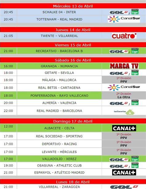Un poquito de x favor!!: ¡¡Fútbol Televisado esta semana!!