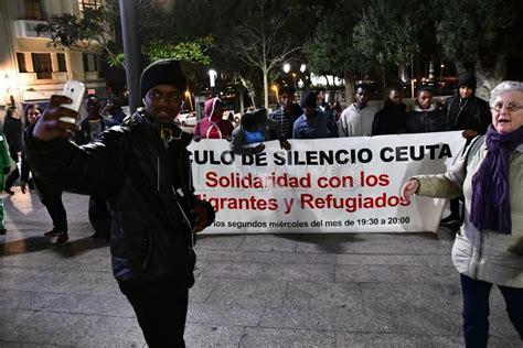 Un silencio contra las injusticias en la Frontera Sur