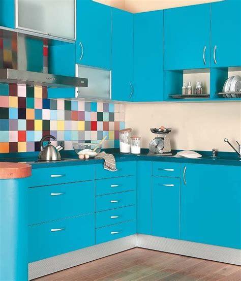 Una cocina en color turquesa | Cocinas | Cocina azul ...