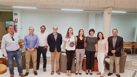 Una delegación del Departamento de Agricultura de Cataluña ...