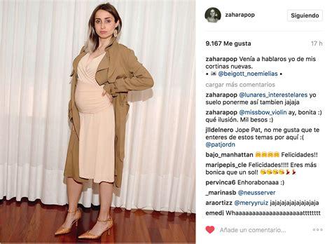 Una famosa cantante española anuncia su embarazo a lo ...