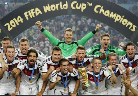 Una mirada a la selección de Alemania, la actual campeona ...