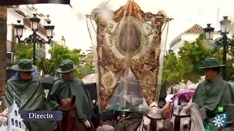 Una pará en el camino  El Rocío 2016  | Misa de romeros de ...