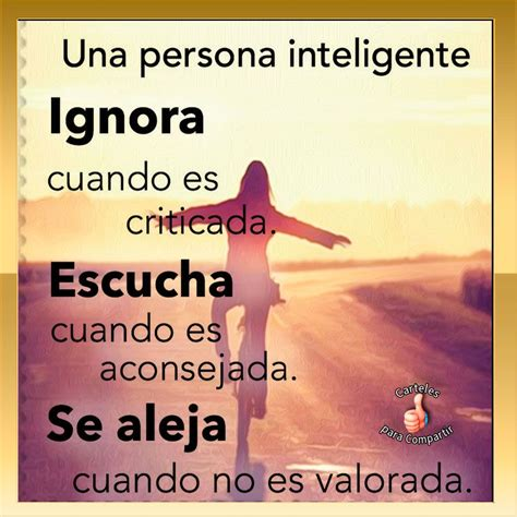 Una persona inteligente | Frases inspiradoras, Citas sobre ...