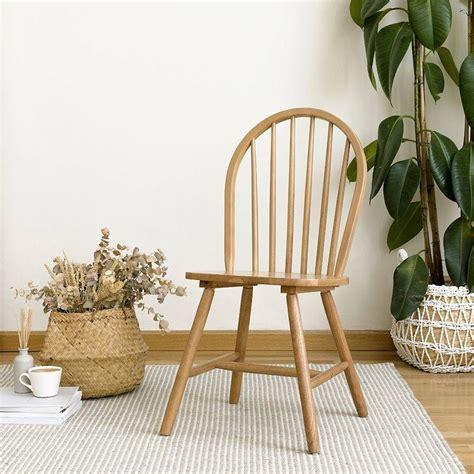 Una silla de madera natural | Sillas, Kenay home ...