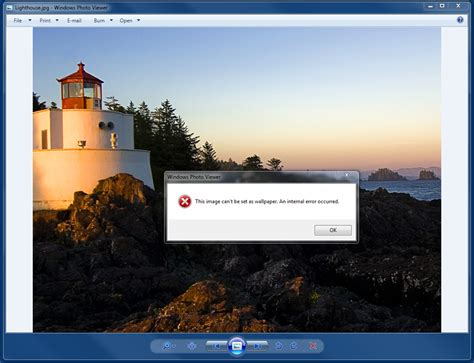Unable to change the Desktop background.   Microsoft Community