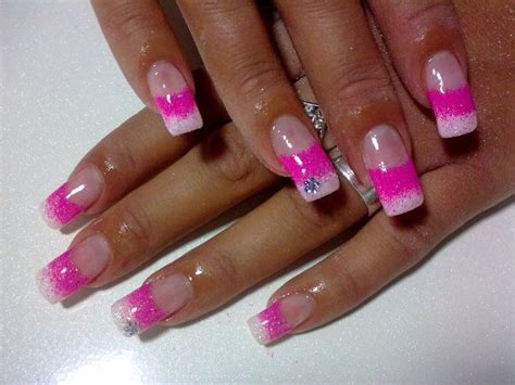 Uñas de gel francesa degradado.   Nail art designs, Cute ...