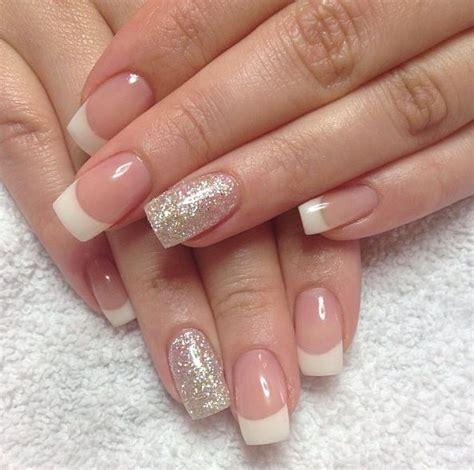 Uñas francesas o uñas french decoradas con diseños ...