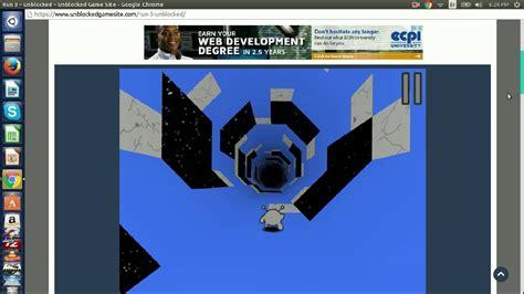 Unblocked Gamesite: Run 3 gameplay   YouTube