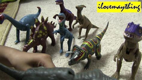 Unboxing His Dinosaur Toys :     YouTube