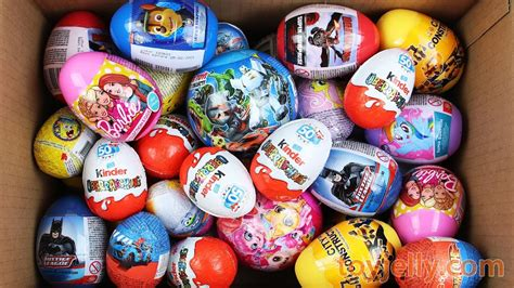 Unboxing New Kinder Joy Toys and 5 Big Surprise Eggs for ...