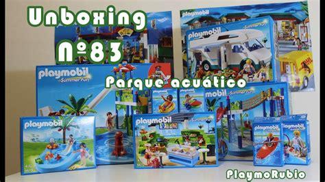 Unboxing PlaymoRubio nº83 – Parque acuático de Playmobil ...