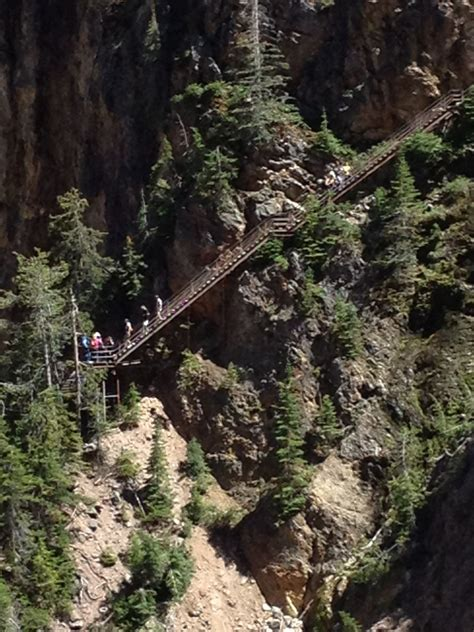 Uncle Tom s Trail, Yellowstone   Wyoming Trails ...