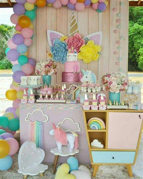 Uncornio | Fiestas de cumpleaños unicornio