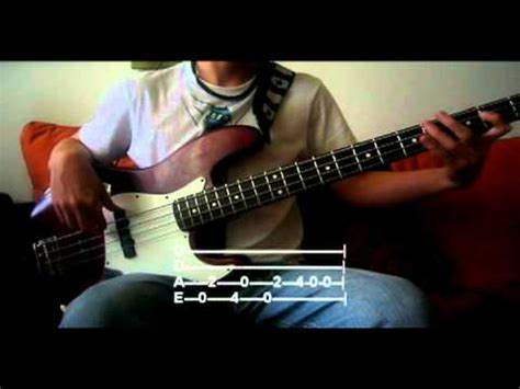 Under The Bridge [Bass Cover] With Tabs   YouTube