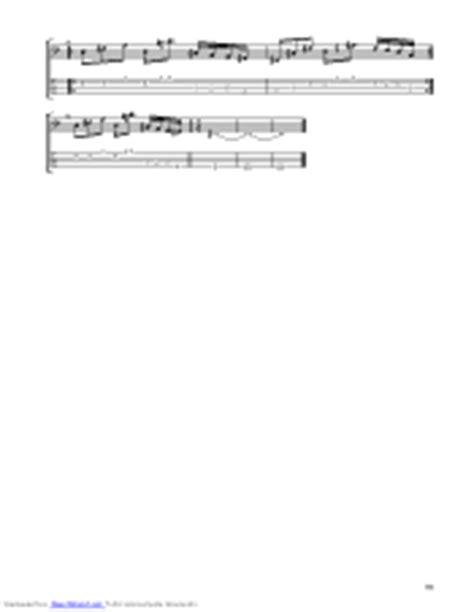 Under The Bridge guitar pro tab by Stanley Clarke ...