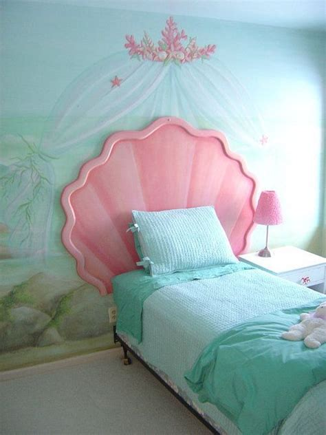 Under the sea seashell bed frame in 2019 | Little mermaid ...