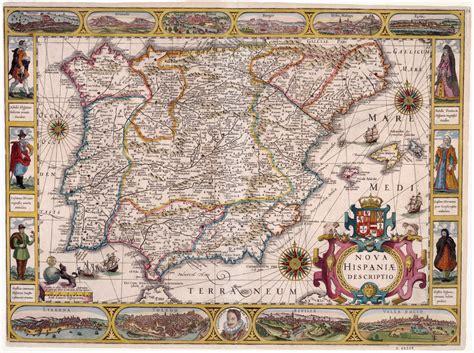 Une carte moderne de l Espagne   Bibliothèque numérique ...