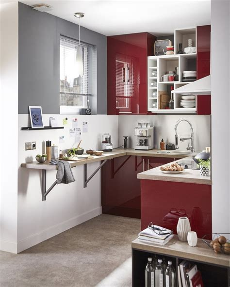 Une cuisine de pro dans un petit espace | Leroy Merlin