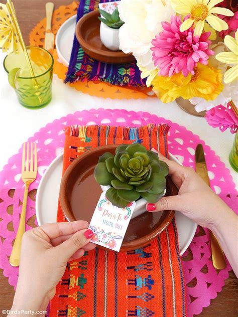 Une Fiesta Mexicaine Colorée   Fêtes | Party Printables