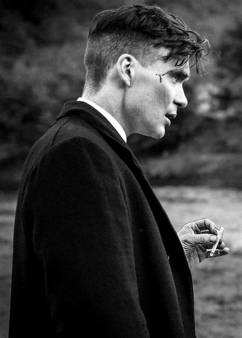 UNFINISHED Tommy Shelby Peaky Blinder portrait on Behance